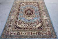 59029 Hand Knotted Pakistani 4'9