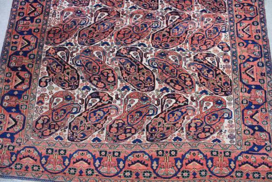 58895 Antique Afshar 5'1