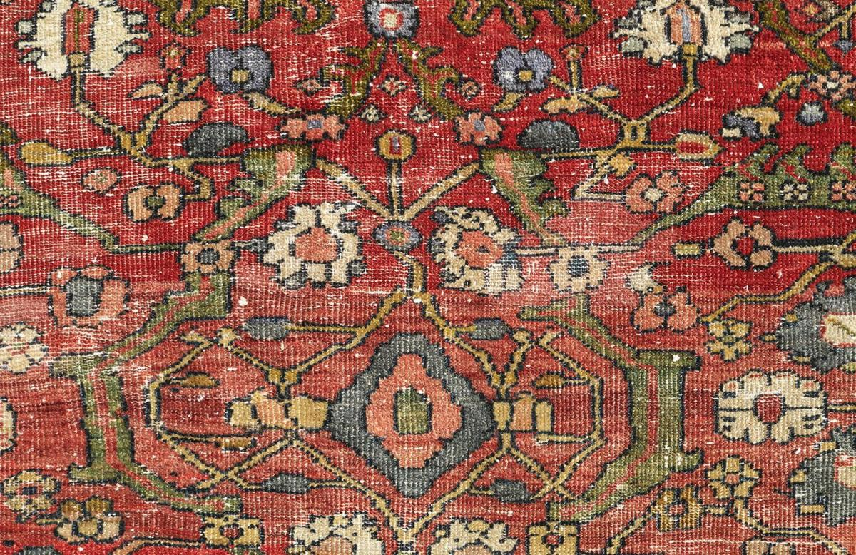 Antique Rugs with Modern Decor