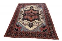 2081 Traditional Afghani rug 9'x12'