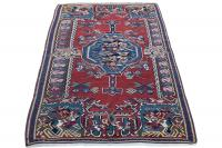 36404 Antique Persian Senneh kilim 4'5