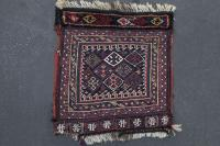 36412 Antique LORI BAKHTIARI BAG COVER 1'x1'