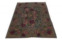 37923 European Moldavia Old Kilim 6'7