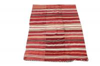 38319 Multi color Stripe Kilim 5'1