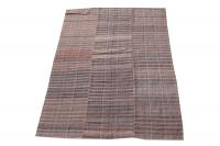 38342 Vintage Turkish Kilim Rug - 6′3″ × 8′8″