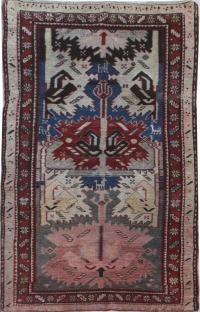 39174 - Antique Shirvan 4.3x8.5