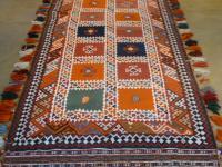 52288 Rare Ghashghie Kilim 4.3x20.9