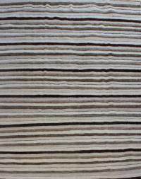 53137 Striped Kilim 6.4x9.5