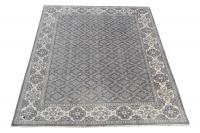 53819 White Gray rug  8'x10'