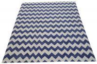 57059 Large Blue Kilim 10'2