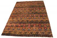 58417 Silk Multi Color Rug 9'9