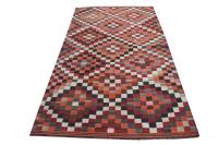 58955 Antique Gasghgai Kilim Rug - 5′ × 8′9″