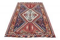 58963 Persian Gasghgai Kilim Rug-5′7″×8′9″