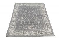 59444 White and Gray rug 8'x10'