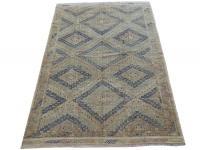 59591 Antique Turkish Flat-weaves 5'10