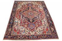 Old Herzi Persian Rug Size 8'8