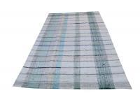 60370 Antique Turkish Multi Color Handmade Flatweave Rug 11'2