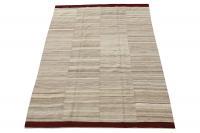 60465 Baneh Wool Kilim Rug - 6′8″ × 9′5″
