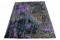 60521 Hand-knotted Contemporary Indian Rug 8'x10'2