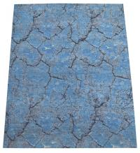 60548 Contemporary Silk and Wool Rug Size 7'10