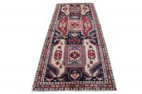 60643 Antique Azari Runner - 4′1″ × 10′1″