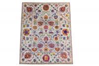 61020 Sari Silk and Wool Contemporary 8'x10'