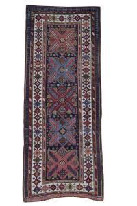 61143 Antique Talish Rug 9''1