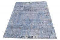 61165 Handmade Wool and Bamboo silk  9'x12'