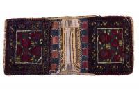 61272 Antique Afshar double bag 2'1