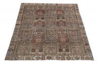 61341 Antique Persian Bakhtiar 9'5