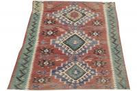 61344 Antique Turkish kilim 8'1