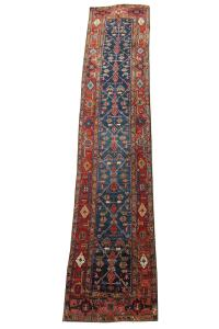 61434 Antique Persian Heriz 13'8