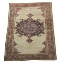 61437 Antique Persian Farahan 6'4