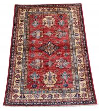 61456 Shirvan Design hand made rug 5'9