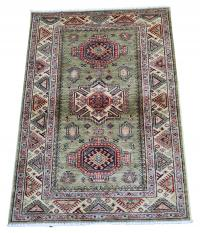 61458 Shirvan Design hand made rug 5'x3'3
