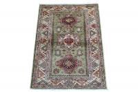61459 Shirvan Design hand made rug 5'x3'3