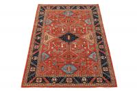 61496 Antique Heriz design rug 9'5