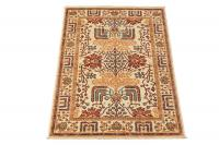 61497 Antique Bijar design rug 6'1