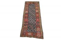 61961 All wool antique runner 3'9