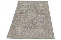 62080 White Wash Tabriz 6'7
