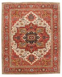 62529 Wool Serapi Rug 9'7