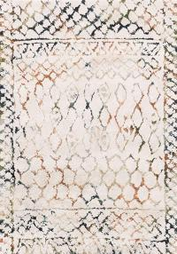 Loloi Rugs Folklore Collection Ivory/Jade - 5' x 7'6