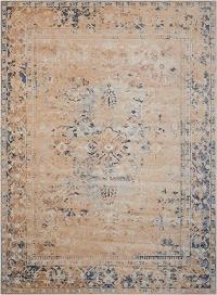 Rustic Vintage Area rug 7'10