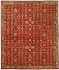 57148 Barcelona Hand Knotted Rug BR-792 Red