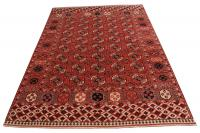C60479 Turkman Carpet Wool 10'8