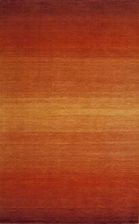 21TM Sunset Hand Tufted Rug Color Paprika