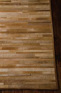Handmade Cowhide Stripes ARP-01 Color AMB