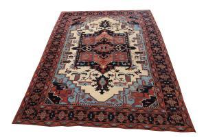 Traditional Afghani rug 9'x12'