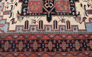 Traditional Afghani rug 9'x12'