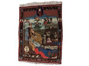 Rare Collectible Kashan 2'8